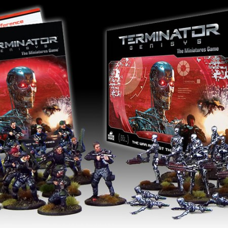 Terminator Genisys The Miniatures Game