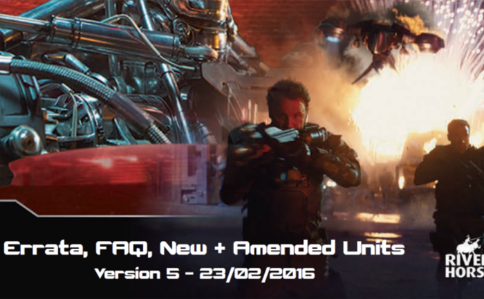 Game Rules Errata for Terminator Genisys The Miniatures Game by River Horse