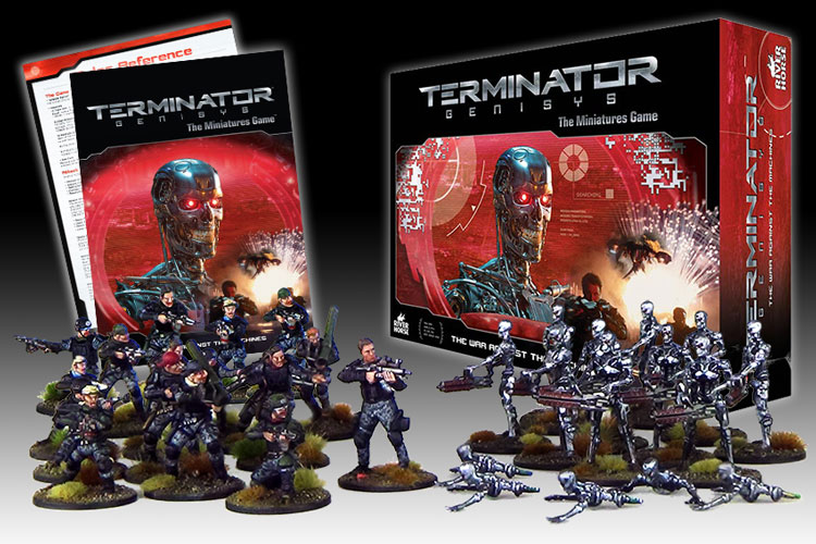 Terminator Genisys: The Miniatures Game