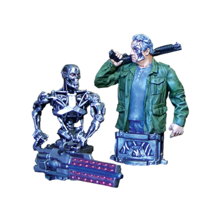 Terminator Genisys Guardian 2017 and T-800 (combined)