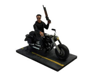 Guardian 1984 with motorbike (metal) for Terminator Genisys the Miniatures Game by River Horse