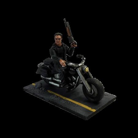 Guardian 1984 with motorbike (metal)