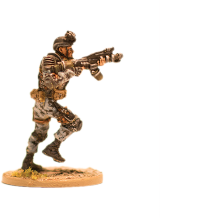 Resistance for Terminator Genisys the Miniatures Game by River Horse