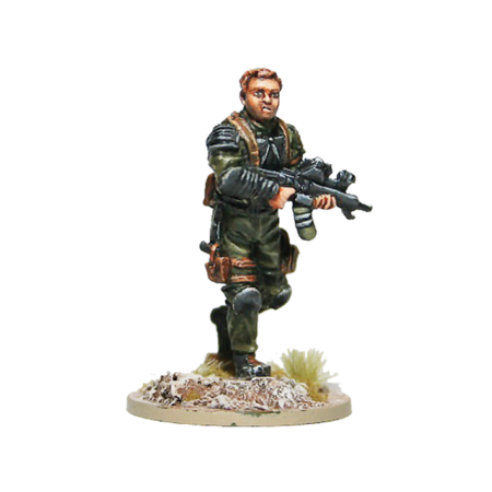 Resistance LT for Terminator Genisys the Miniatures Game by River Horse