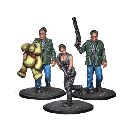 Resin 2017 set from Terminator Genisys the Miniatures Game by River Horse
