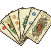 Cards from Loka Card Game by River Horse