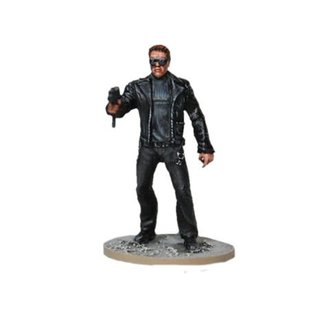 Young Guardian with uzi from Terminator Genisys the Miniatures Game by River Horse