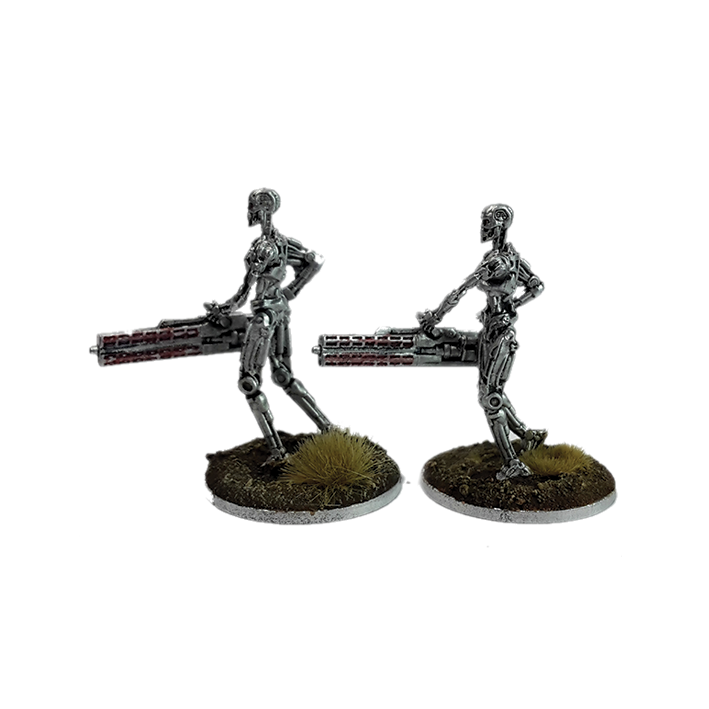 Heavy Plasma Riffle for Terminator Genisys the Miniatures Game by River Horse