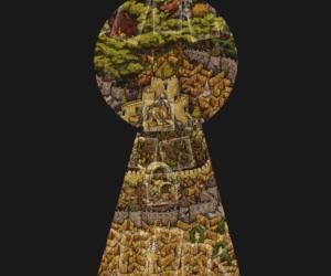 Labyrinth Board - Keyhole