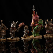 Goblins! Painted Examples for Jim Henson's Labyrinth the Board Game by River Horse