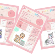 Pony Character Creations for Tails of Equestria by River Horse