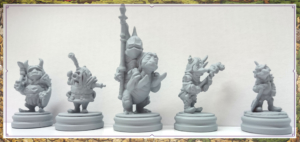 Components preview of the Goblins! Expansion for Jim Henson's Labyrinth the Board Game by River Horse