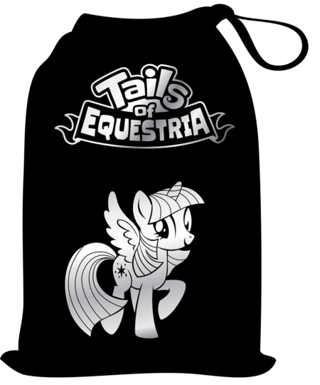 Tokens of Friendship bag for Tails of Equestria by River Horse