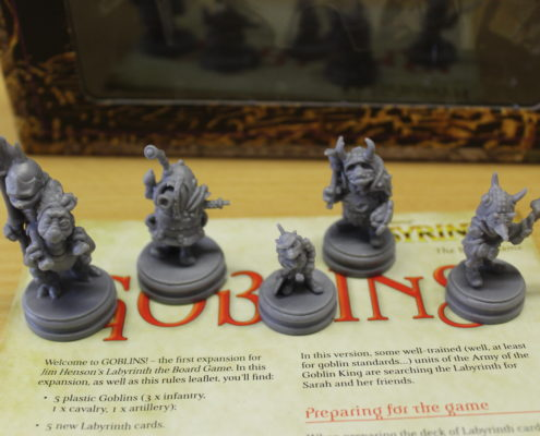 Goblins! expansion preview for Jim Henson's Labyrinth the Board Game by River Horse
