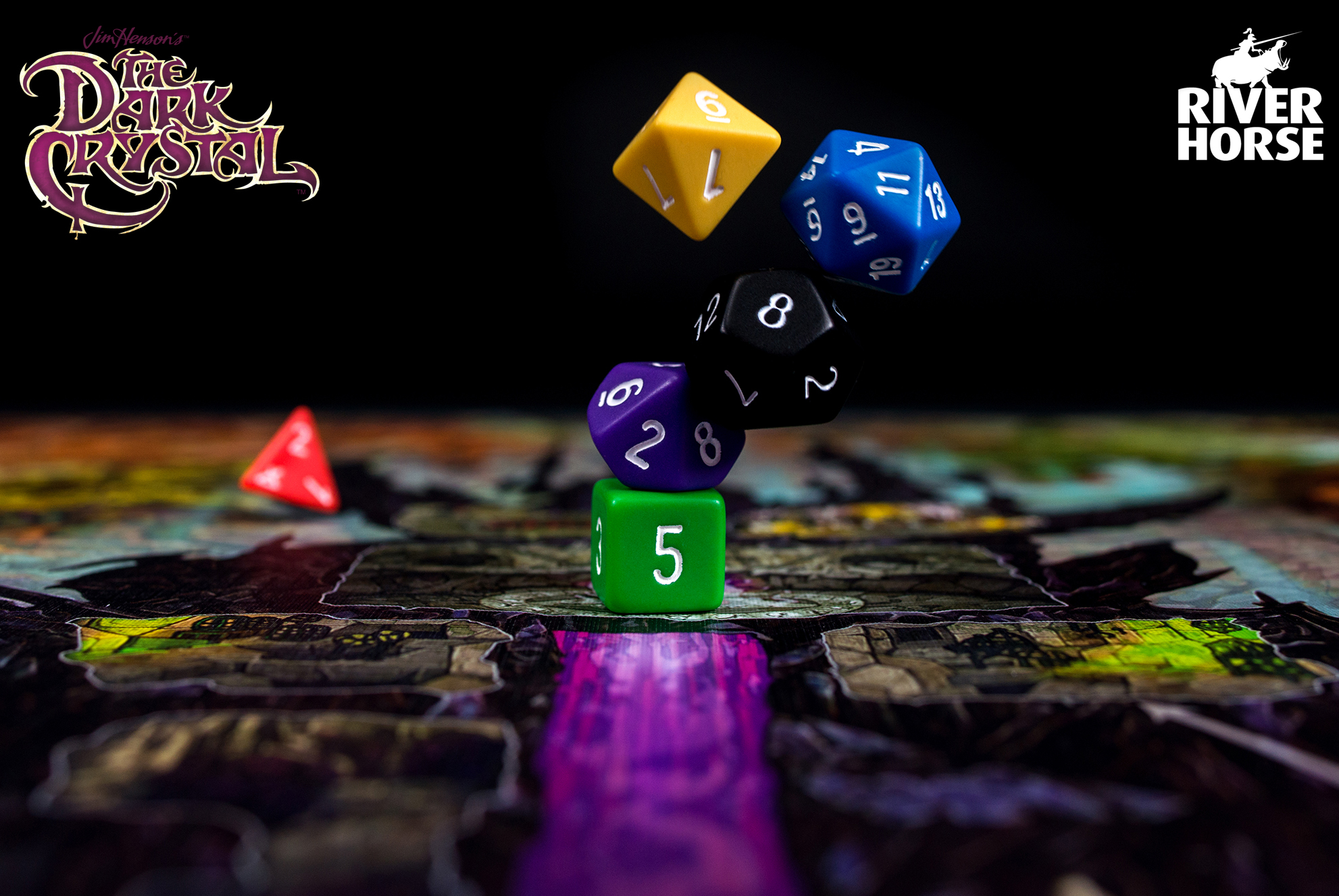 River Horse Studios Jim Hensons The Dark crystal Board Game