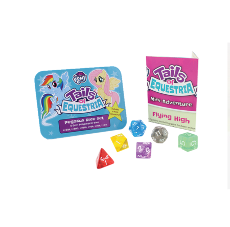 MLP:ToE - Pegasus Dice set