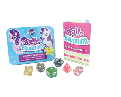 Unicorn Dice set for Tails of Equestria by River Horse