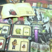 Prototype preview of Jim Henson's The Dark Crystal Board Game by River Horse