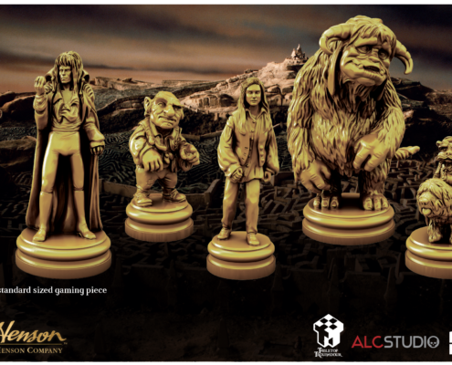 Deluxe Game Pieces for Jim Henson's Labyrinth the Board Game by River Horse