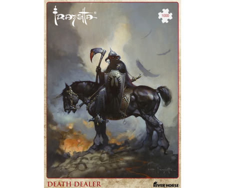Death Dealer by Frank Frazetta Puzzle by River Horse