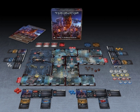 Layout of Components for Terminator Genisys: Rise of the Resistance by River Horse