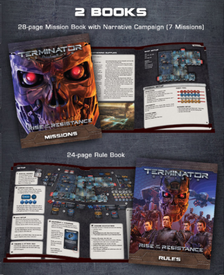 Components from Terminator Genisys: Rise of the Resistance by River Horse