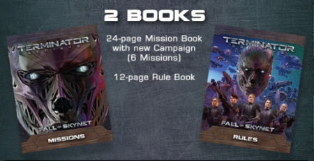 Contents of Terminator Genisys: Fall of Skynet by River Horse