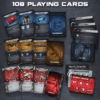 Terminator Genisys: Rise of the Resistance - Playing Cards