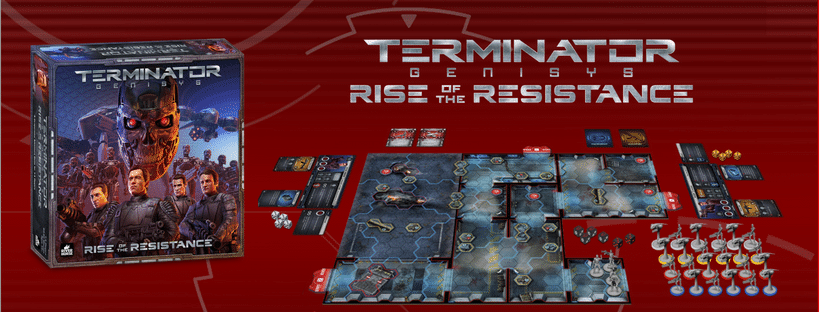 Terminator Genisys - Rise of the Resistance by River Horse