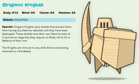 Judge Not by the Cover - Origami Knight Preview for Tails of Equestria by River Horse