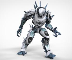 Painted Drone Kaiju