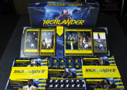 Highlander: The Board Game - Production sample