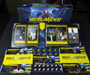 Highlander: The Board Game - Production sample