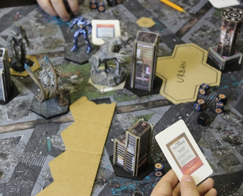 Play Testing Behind the Scenes of Pacific Rim: Extinction by River Horse