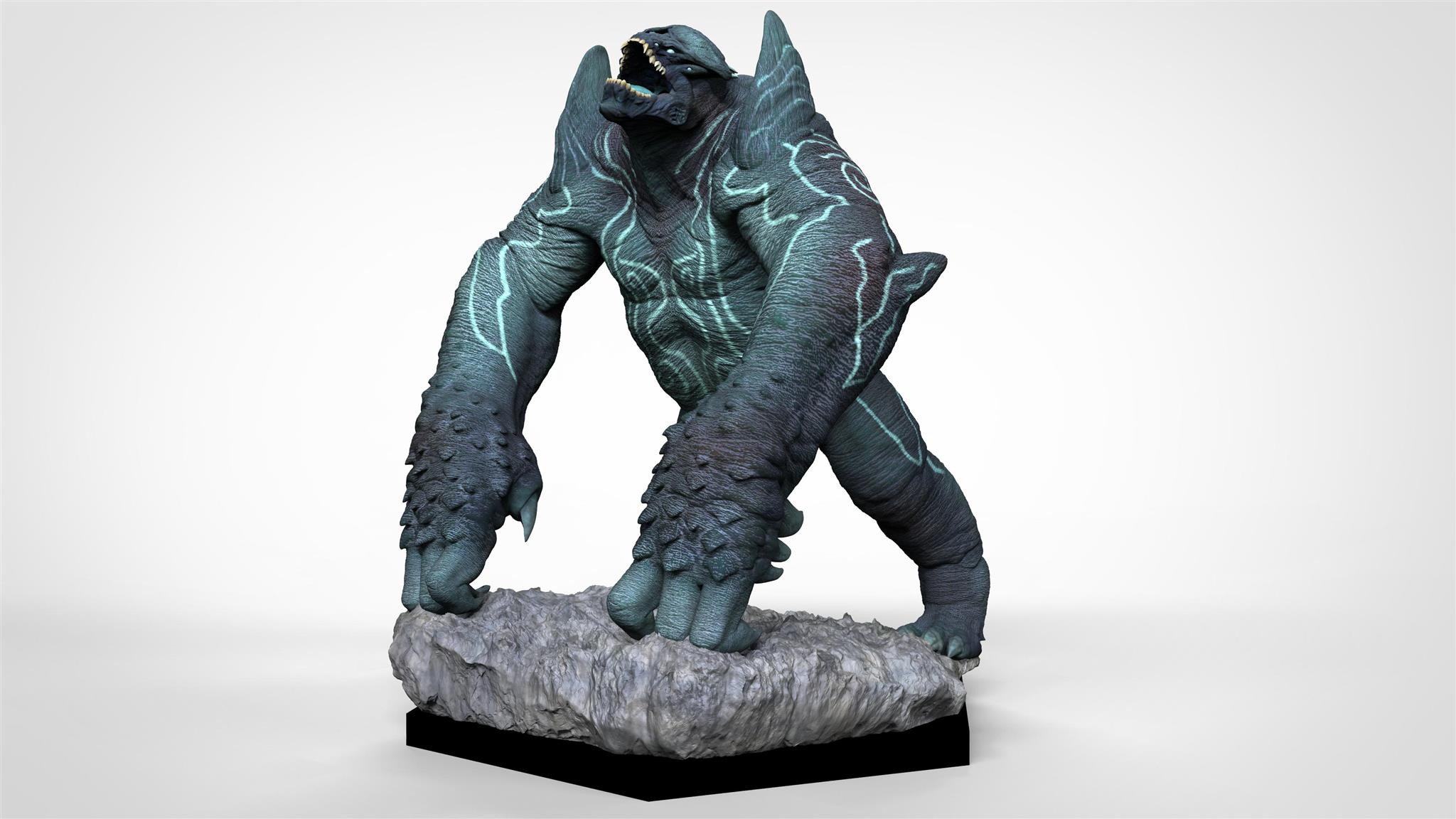 Full Colour Render of Leatherback for Pacific Rim: Extinction by River Horse