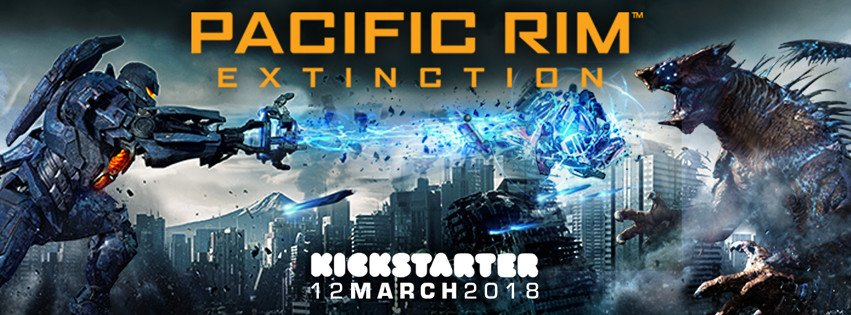 Pacific Rim: Extinction Site Banner
