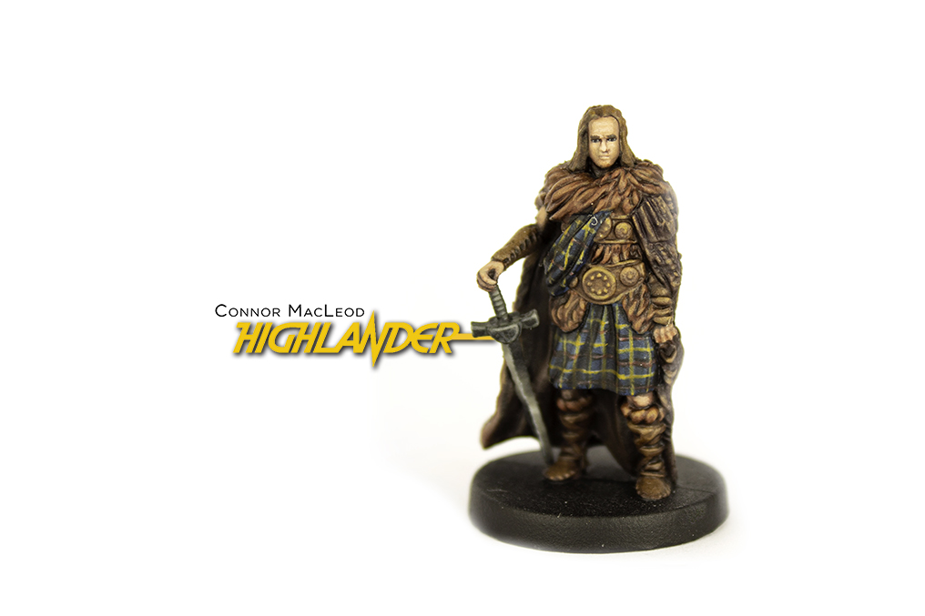 Highlander: The Board Game - Connor MacLeod Miniature