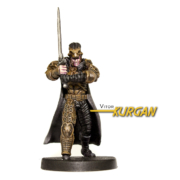 Painted example of Kurgan (Ancient) from Highlander The Board Game by River Horse