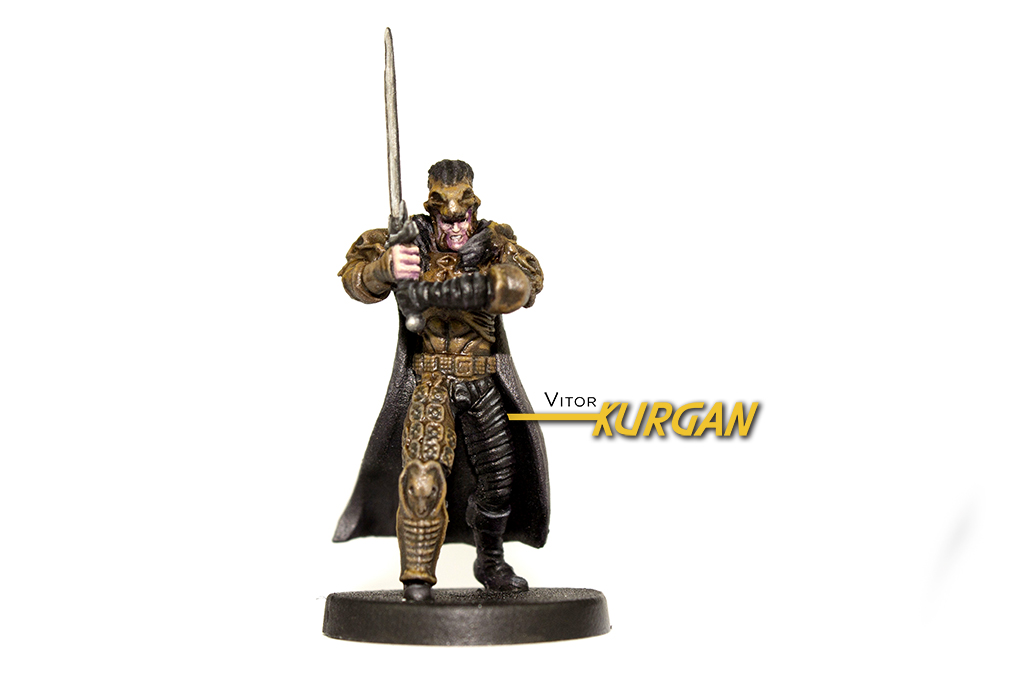 Highlander: The Board Game - The Kurgan