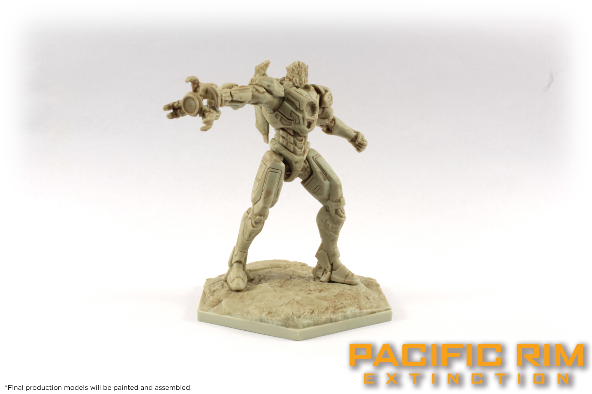 Unpainted Model of Gipsy Avenger from Pacific Rim: Extinction by River Horse