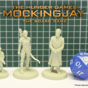 Scale of the Miniatures from The Hunger Games: Mockingjay - The Board Game by River Horse