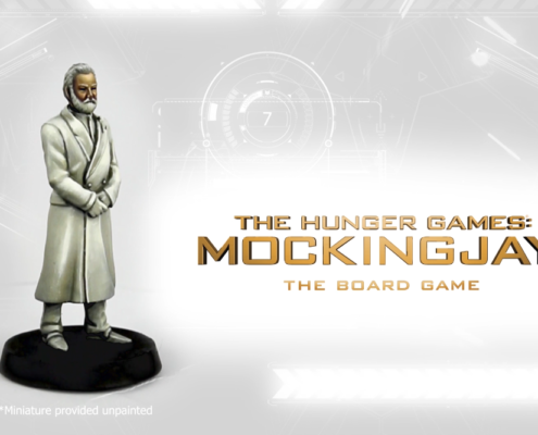 President Snow painted by Angel Giraldez from The Hunger Games: Mockingjay - The Board Game by River Horse