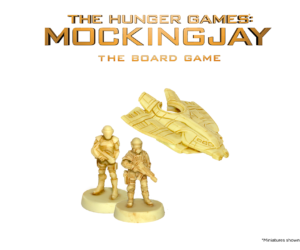 Troops & Hovercraft Resins from The Hunger Games: Mockingjay - The Board Game by River Horse