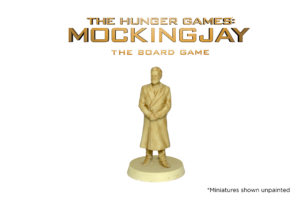 President Snow Resin for The Hunger Games: Mockingjay - The Board Game by River Horse