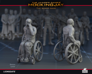 Render of Beetee Latier for The Hunger Games: Mockingjay - The Board Game by River Horse