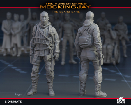 Render of Boggs for The Hunger Games: Mockingjay - The Board Game by River Horse