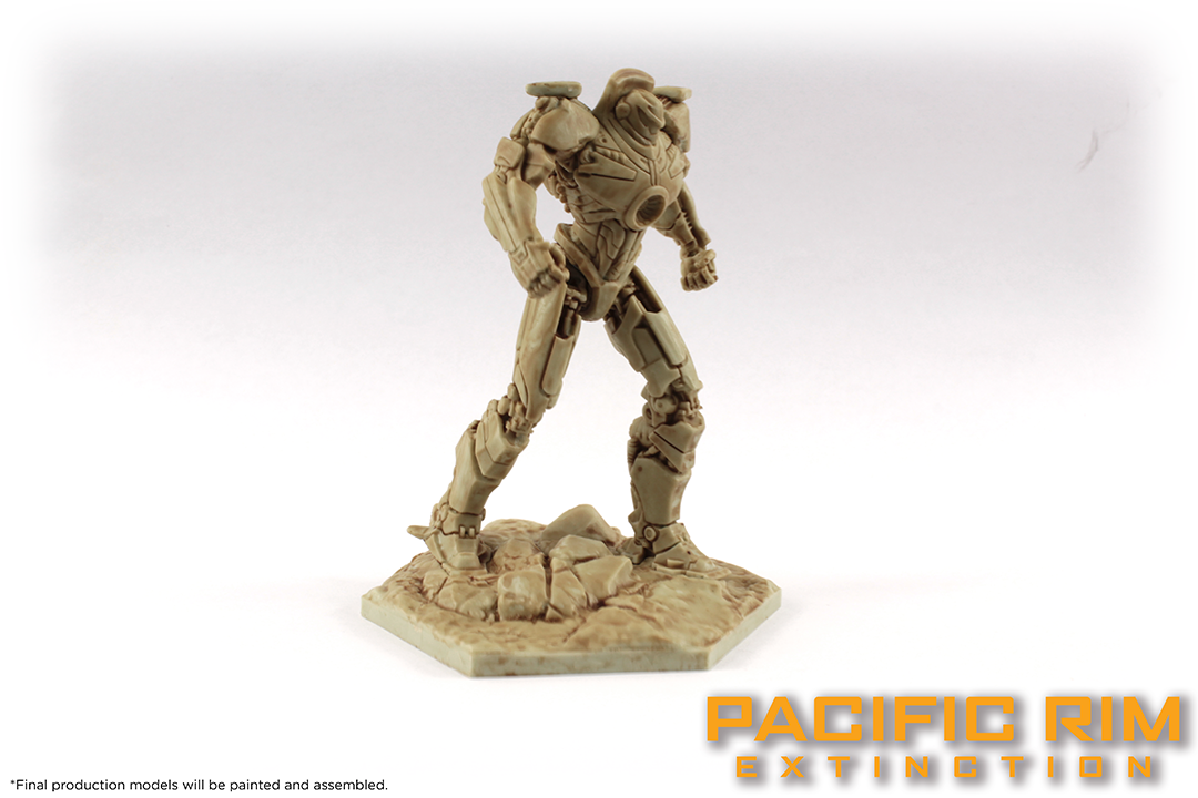 Unpainted Model of Gipsy Danger from Pacific Rim: Extinction by River Horse