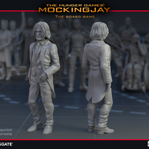 Render of Haymitch Abernathy for The Hunger Games: Mockingjay - The Board Game by River Horse