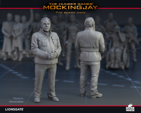 Render of Plutarch Heavensbee for The Hunger Games: Mockingjay - The Board Game by River Horse