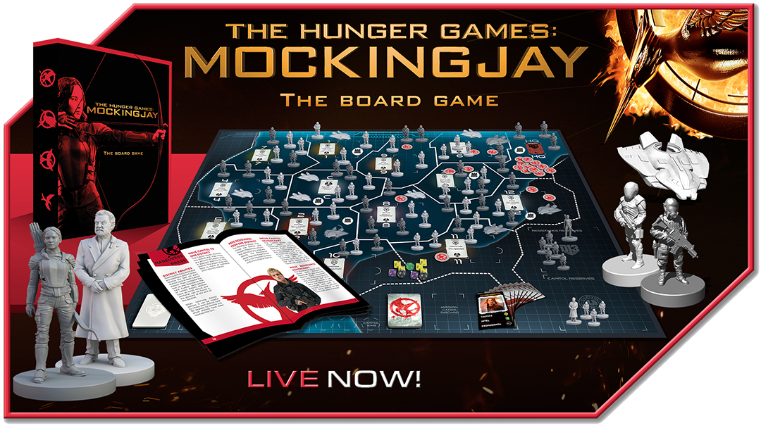 Banner Image for The Hunger Games: Mockingjay - The Board Game by River Horse